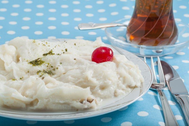 Τουρκικό επιδόρπιο Gullac Ramadan στοκ εικόνες με δικαίωμα ελεύθερης χρήσης