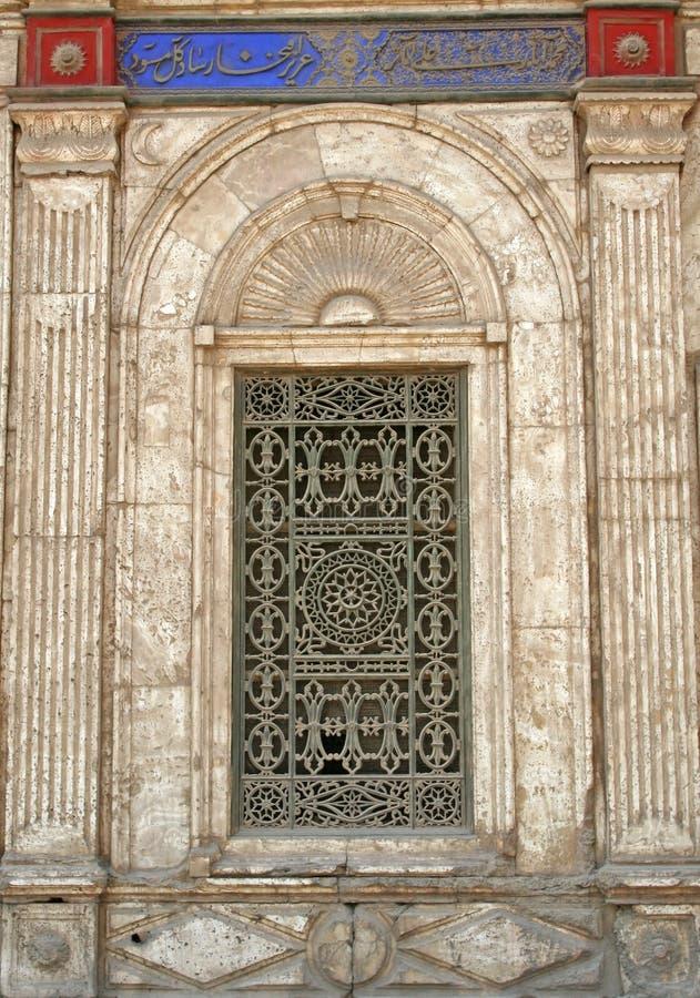 τουρκικό παράθυρο στοκ εικόνες