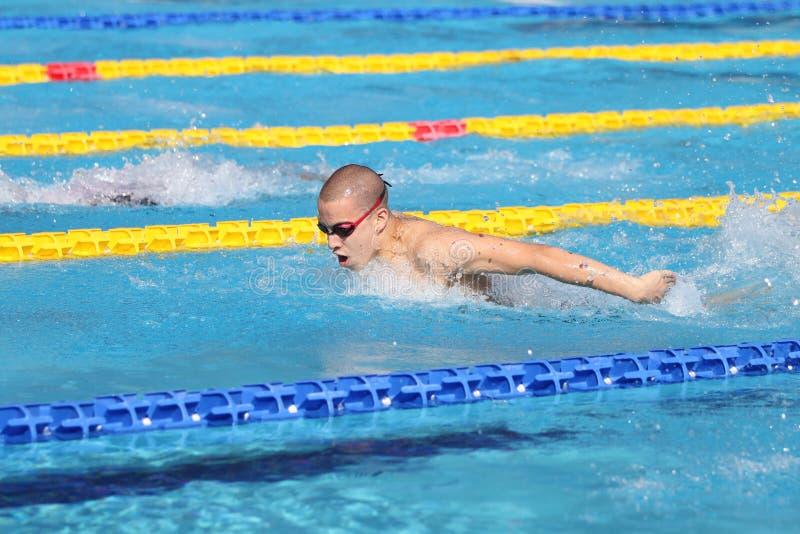 Τουρκικό πρωτάθλημα κολύμβησης στοκ φωτογραφίες