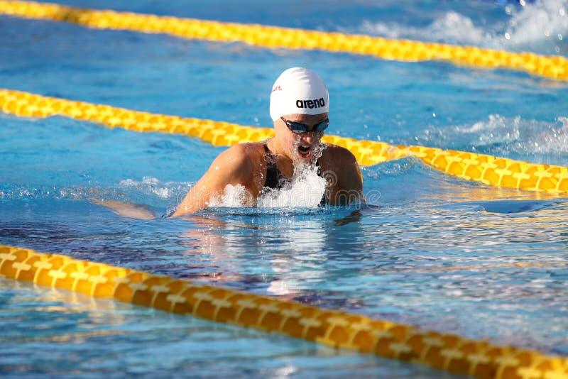 Τουρκικό πρωτάθλημα κολύμβησης στοκ εικόνα με δικαίωμα ελεύθερης χρήσης