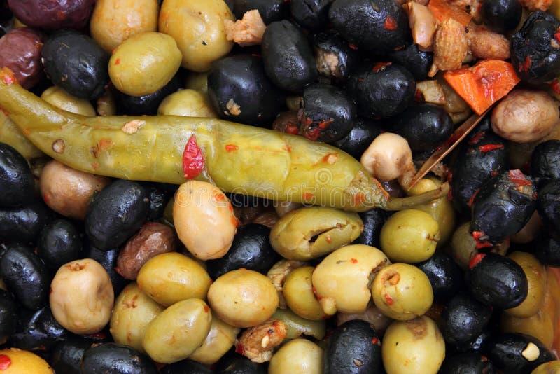 Τουρσιά ελιών στοκ φωτογραφίες