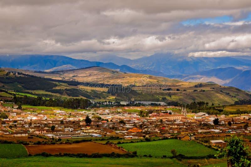 Του Εκουαδόρ χωριό στοκ εικόνες με δικαίωμα ελεύθερης χρήσης