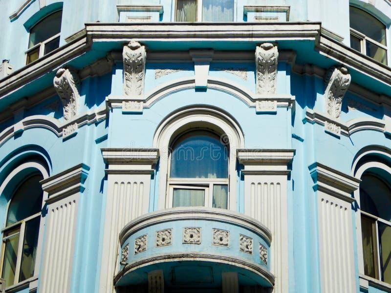 Του Χάρμπιν κεντρικά παράθυρα ύφους λεωφόρων ευρωπαϊκά στοκ φωτογραφίες με δικαίωμα ελεύθερης χρήσης