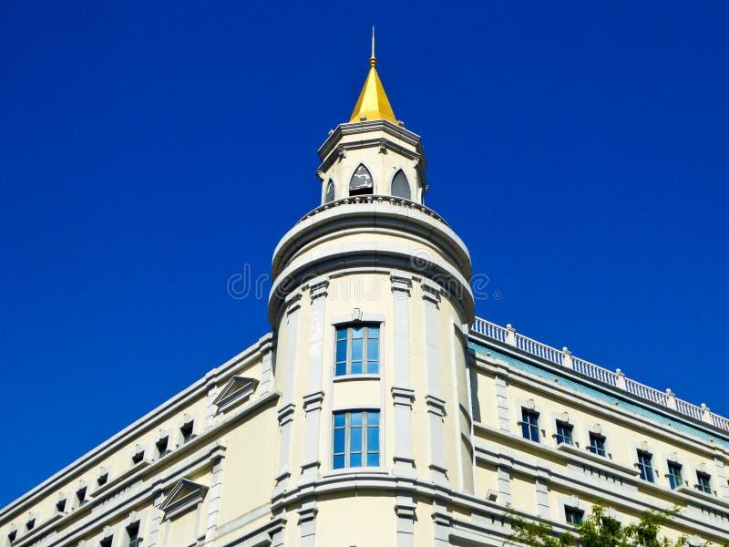 Του Χάρμπιν κεντρική αρχιτεκτονική ύφους λεωφόρων ευρωπαϊκή στοκ φωτογραφία με δικαίωμα ελεύθερης χρήσης