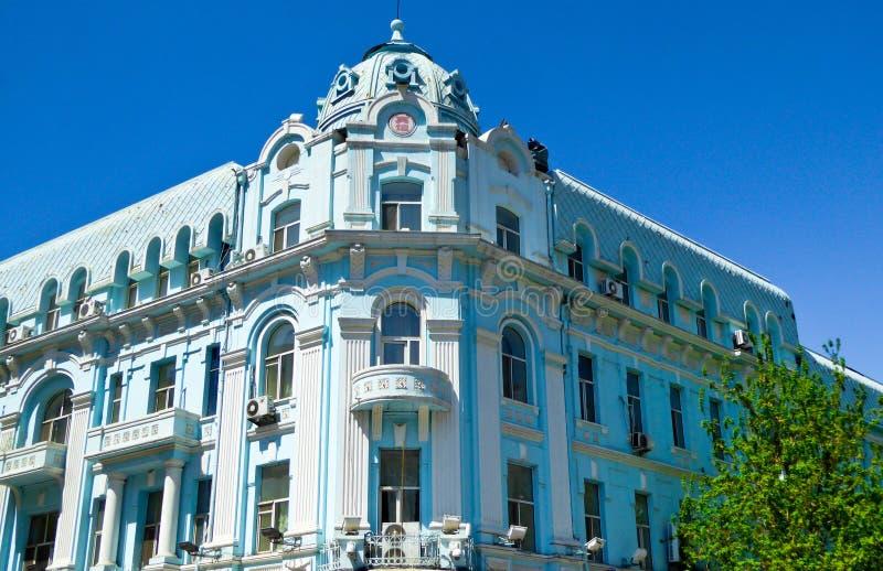 Του Χάρμπιν κεντρική αρχιτεκτονική ύφους λεωφόρων ευρωπαϊκή στοκ φωτογραφία