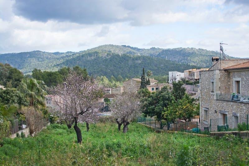 Του χωριού άποψη ES Capdella στοκ φωτογραφία με δικαίωμα ελεύθερης χρήσης