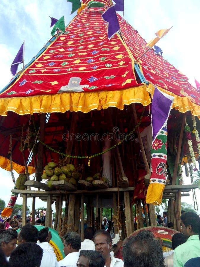 Του χωριού λειτουργία Ινδία στοκ εικόνες