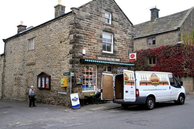 Του χωριού κατάστημα και ταχυδρομείο στοκ εικόνα με δικαίωμα ελεύθερης χρήσης
