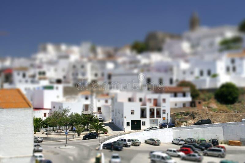 του χωριού λευκό στοκ φωτογραφία με δικαίωμα ελεύθερης χρήσης