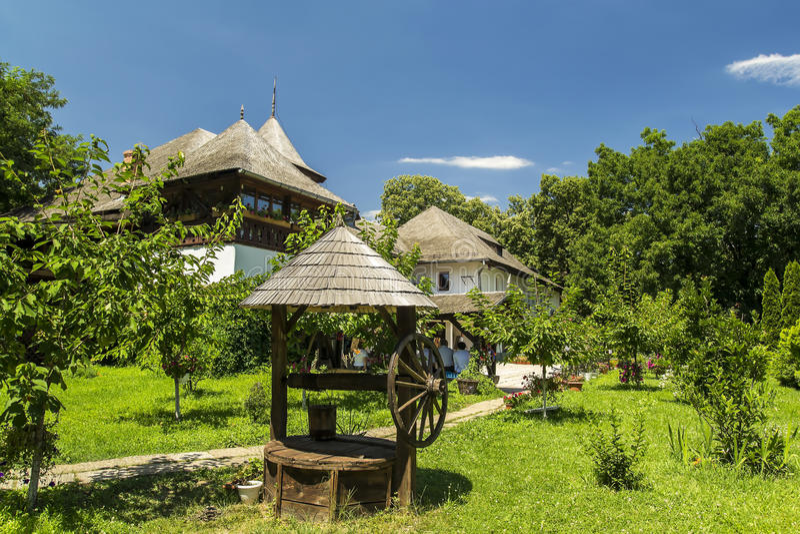 Του χωριού μουσείο στοκ εικόνες