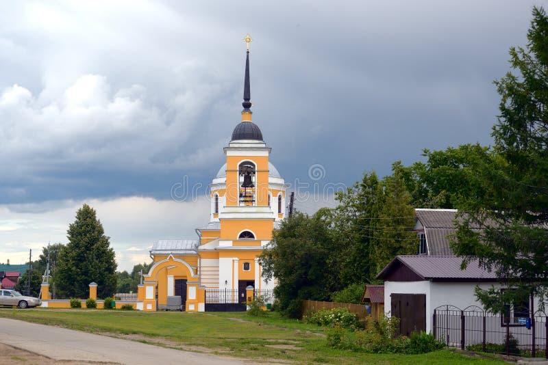 Του χωριού οδός στοκ φωτογραφίες