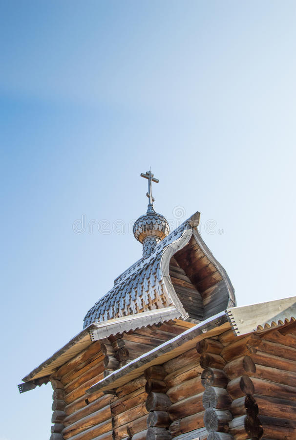 Του χωριού ρωσική Ορθόδοξη Εκκλησία Taltsy στοκ φωτογραφία με δικαίωμα ελεύθερης χρήσης