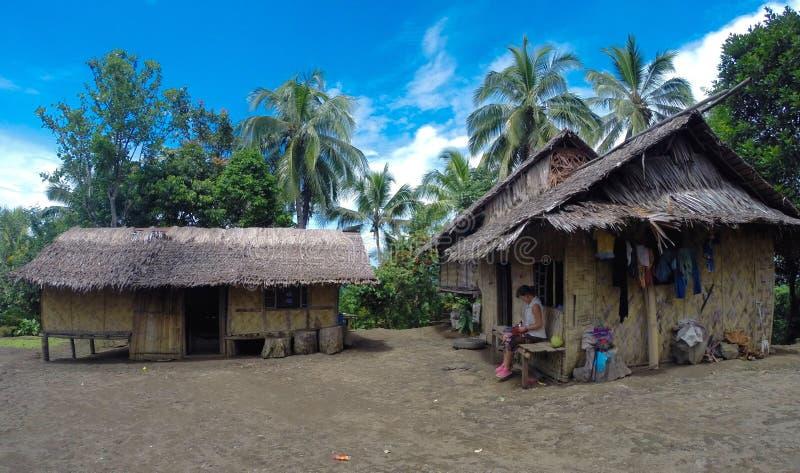 Του χωριού σπίτια στοκ φωτογραφίες
