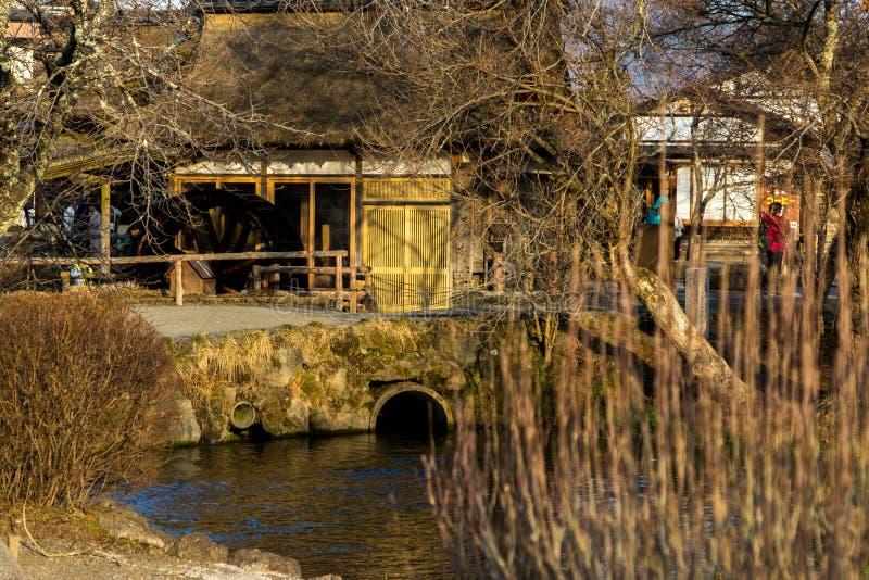 Του χωριού σπίτι της Ιαπωνίας στοκ φωτογραφίες με δικαίωμα ελεύθερης χρήσης