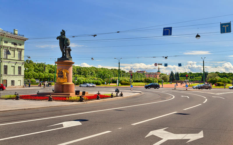 Του ST - Πετρούπολη, Ρωσία στοκ εικόνες