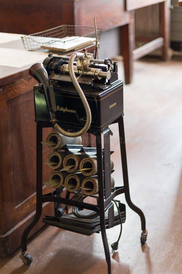 Του Thomas Edison εργαστήριο του Thomas Edison National Historical Park κονσερβών στοκ εικόνες με δικαίωμα ελεύθερης χρήσης