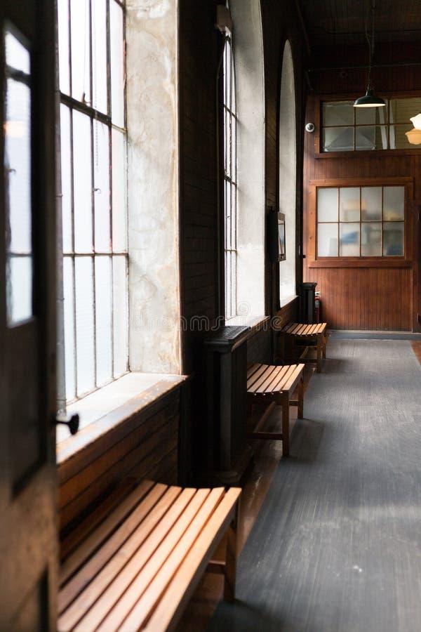 Του Thomas Edison εργαστήριο του Thomas Edison National Historical Park κονσερβών στοκ εικόνα