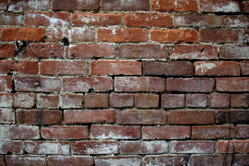 Τούβλινος τοίχος, υπόβαθρο στοκ εικόνες