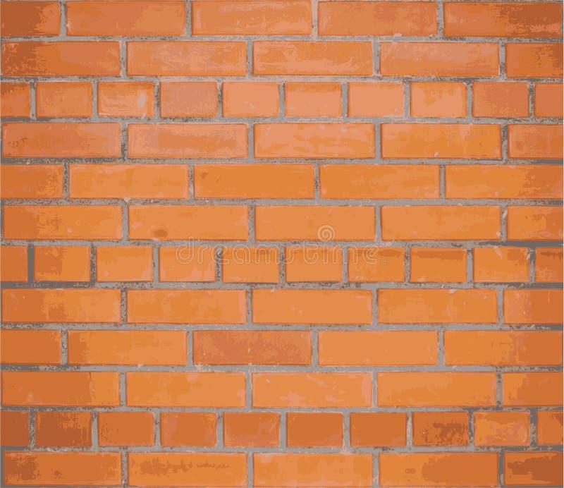 Τούβλινος τοίχος ανασκόπησης διάνυσμα EPS10 απεικόνιση αποθεμάτων