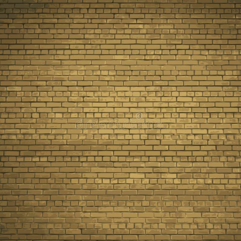 Τούβλινος τοίχος ανασκόπησης διάνυσμα EPS10 διανυσματική απεικόνιση