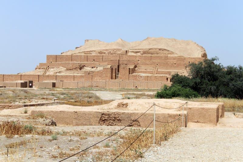 Τούβλο ziggurat στοκ φωτογραφίες με δικαίωμα ελεύθερης χρήσης