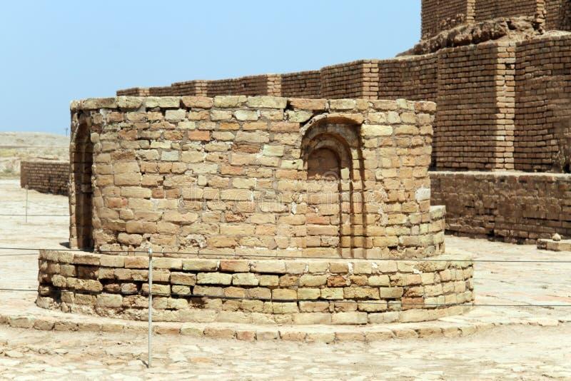 Τούβλο ziggurat στοκ φωτογραφία με δικαίωμα ελεύθερης χρήσης