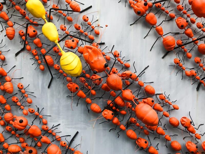 Το άγαλμα μυρμηγκιών στοκ εικόνες με δικαίωμα ελεύθερης χρήσης