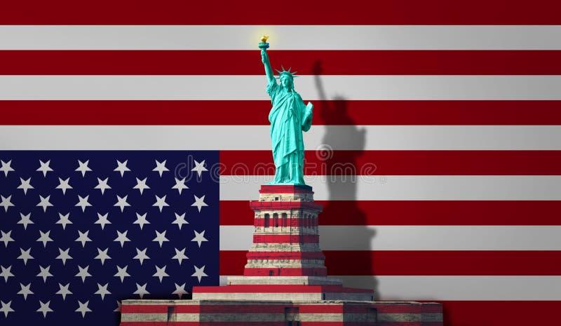 Το άγαλμα της ελευθερίας Νέα Υόρκη στοκ εικόνες με δικαίωμα ελεύθερης χρήσης