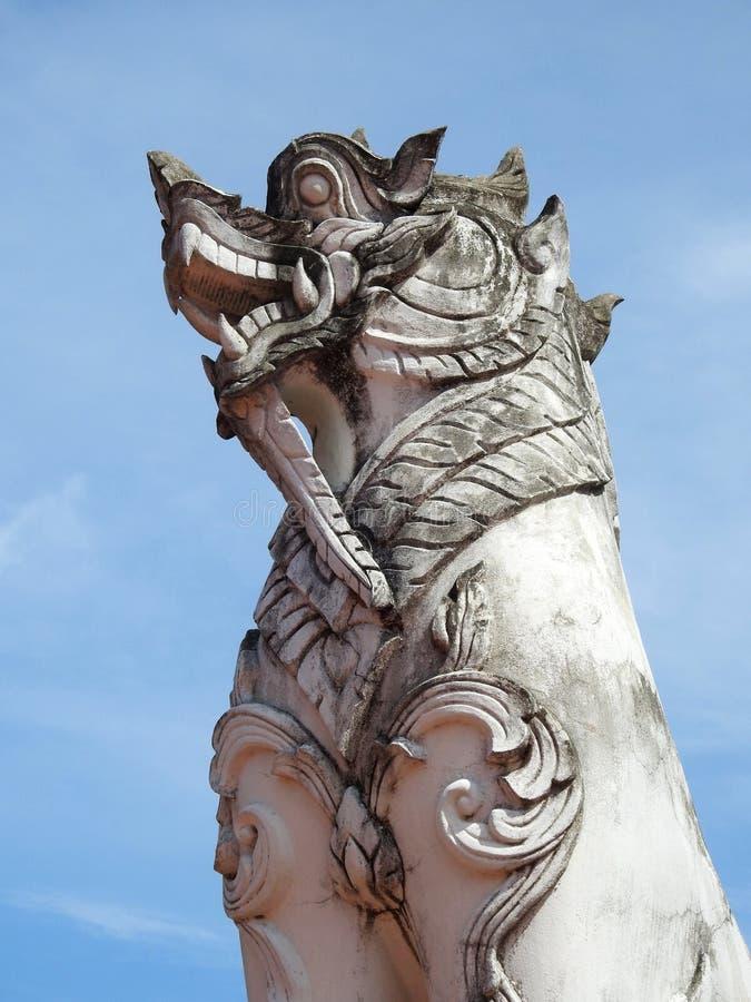 Το άγαλμα του λιονταριού στοκ εικόνες με δικαίωμα ελεύθερης χρήσης