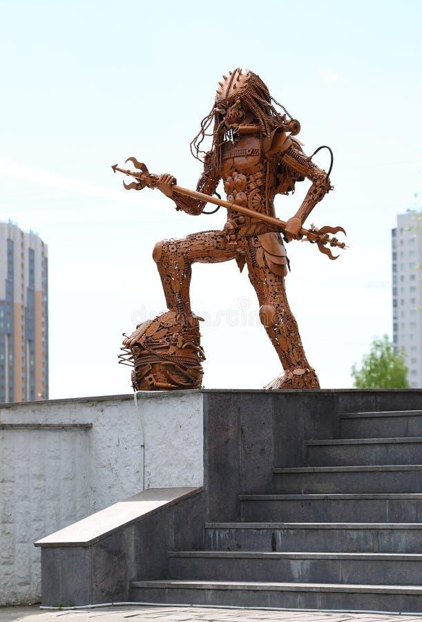 Το άγαλμα του ξένου στοκ εικόνα με δικαίωμα ελεύθερης χρήσης