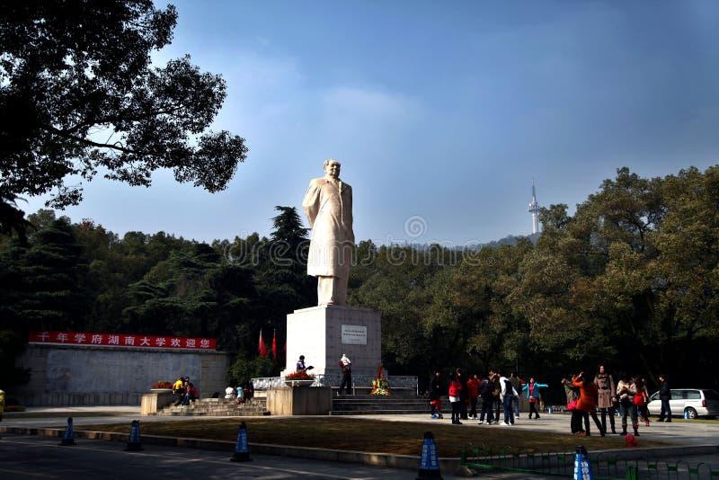 Το άγαλμα Mao Zedong στοκ εικόνα