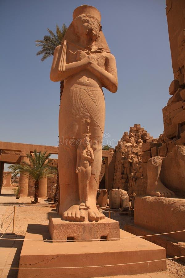 Το άγαλμα Ramesses ΙΙ στοκ φωτογραφίες