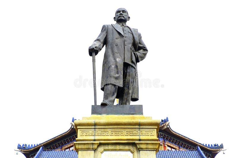 Το άγαλμα Sen ήλιων yat στην αναμνηστική αίθουσα, guangzhou, Κίνα στοκ εικόνες με δικαίωμα ελεύθερης χρήσης