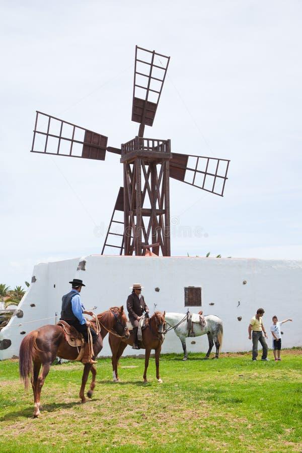 Το άλογο corralejo 28 Απριλίου εμφανίζει Ισπανία στοκ φωτογραφίες