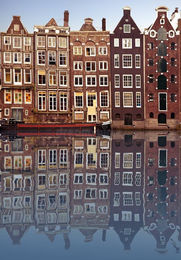 το Άμστερνταμ στεγάζει χα στοκ εικόνες