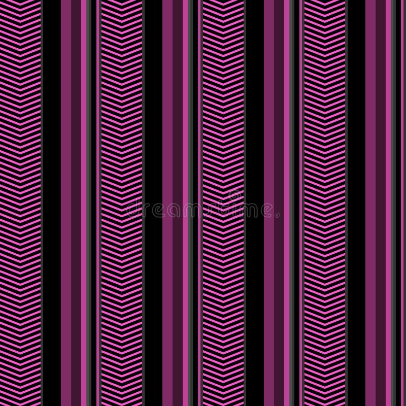 Το άνευ ραφής γεωμετρικό ριγωτό ζωηρόχρωμο υπόβαθρο σχεδίου σχεδίων διανυσματικό με τις κάθετα γραμμές και το σιρίτι πηγαίνει ζιγ ελεύθερη απεικόνιση δικαιώματος