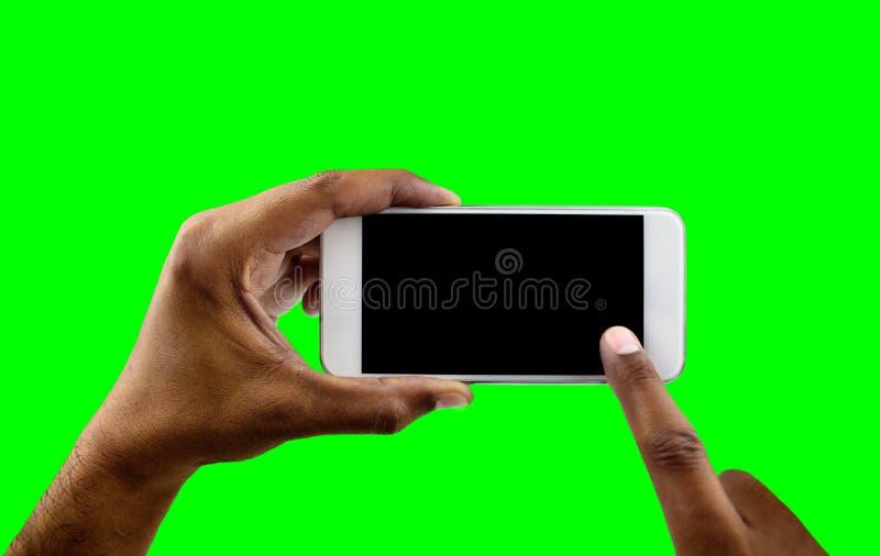 Το άσπρο τηλέφωνό μου οριζόντιο στοκ φωτογραφίες