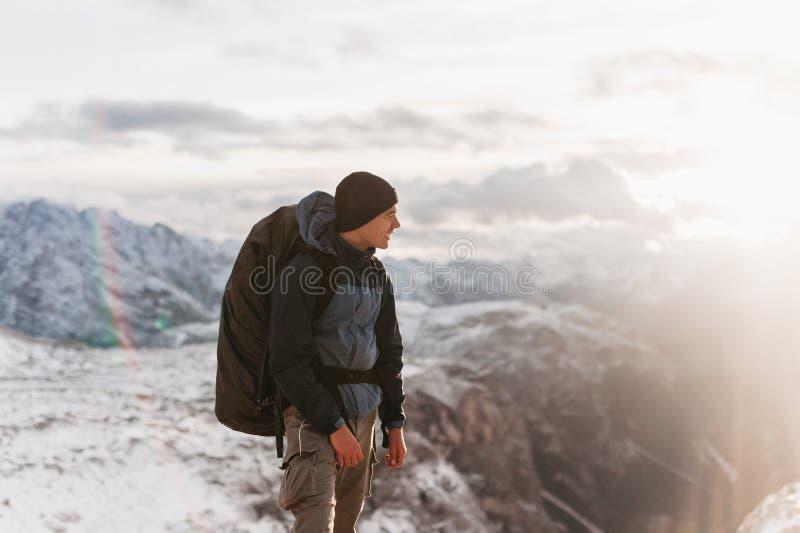Το άτομο είναι μέρος της φύσης στοκ φωτογραφία με δικαίωμα ελεύθερης χρήσης