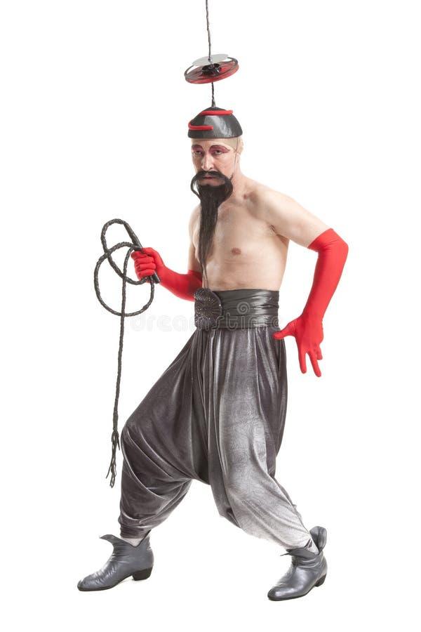 Το άτομο σε ένα κοστούμι με κτυπά στοκ φωτογραφία με δικαίωμα ελεύθερης χρήσης