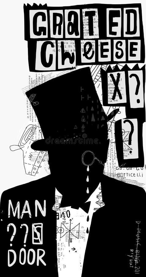 Το άτομο στο καπέλο ελεύθερη απεικόνιση δικαιώματος