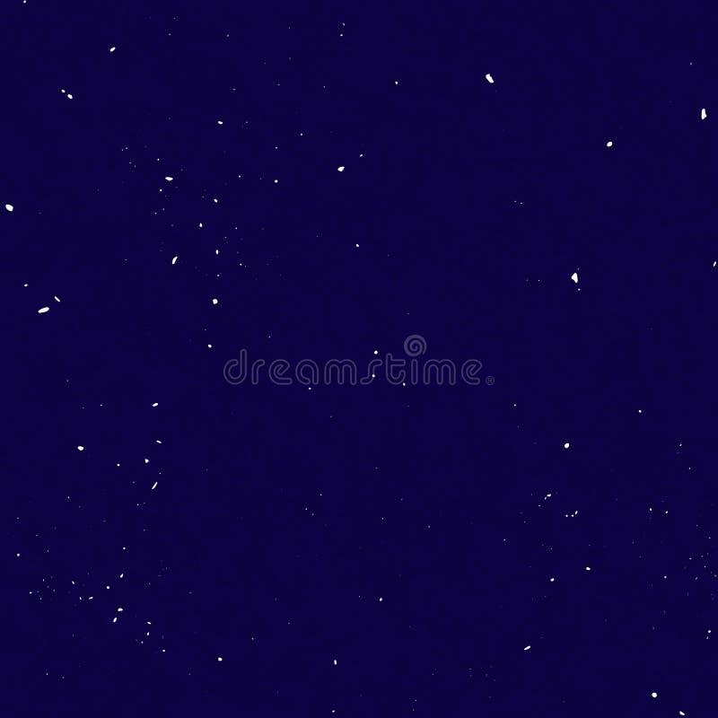 Το έναστρο άνευ ραφής σχέδιο, καταβρεγμένο χέρι σύρει τον κόσμο και το επαναλαμβανόμενο σχέδιο γαλαξιών Σημεία, χρώμα ψεκασμού στ διανυσματική απεικόνιση