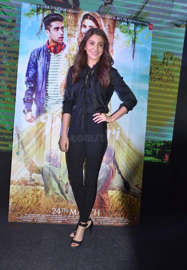 """Το έξοχο αστέρι Anushka Sharma Bollywood προάγει τον επερχόμενο κινηματογράφο της """"Phillauri† σε Bhopal στοκ φωτογραφίες με δικαίωμα ελεύθερης χρήσης"""