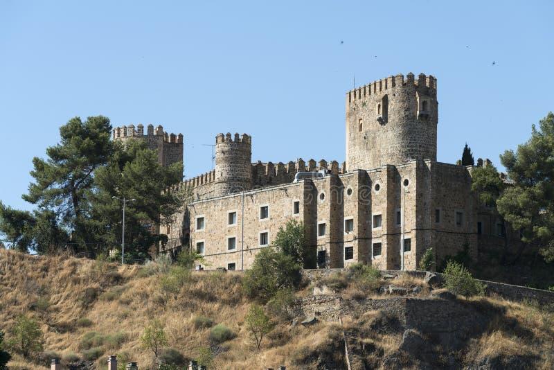 Τολέδο (Ισπανία): κάστρο στοκ εικόνα με δικαίωμα ελεύθερης χρήσης