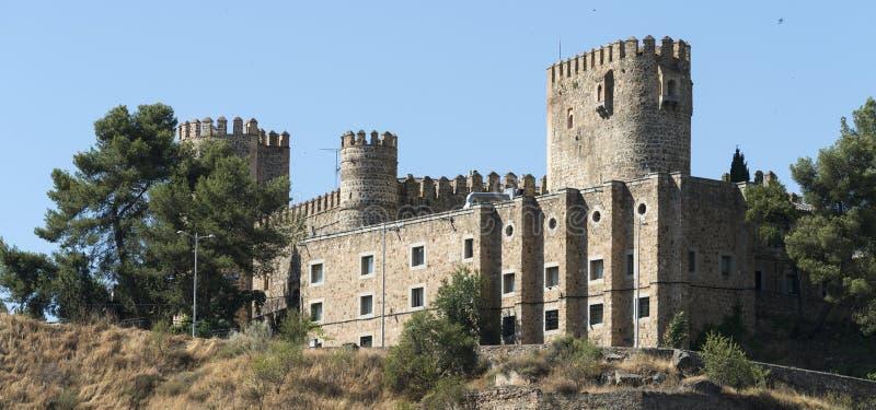 Τολέδο Ισπανία: κάστρο στοκ εικόνες