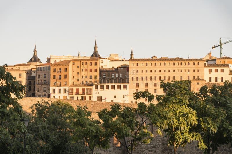 Τολέδο & x28 Spain& x29: εικονική παράσταση πόλης στοκ φωτογραφία