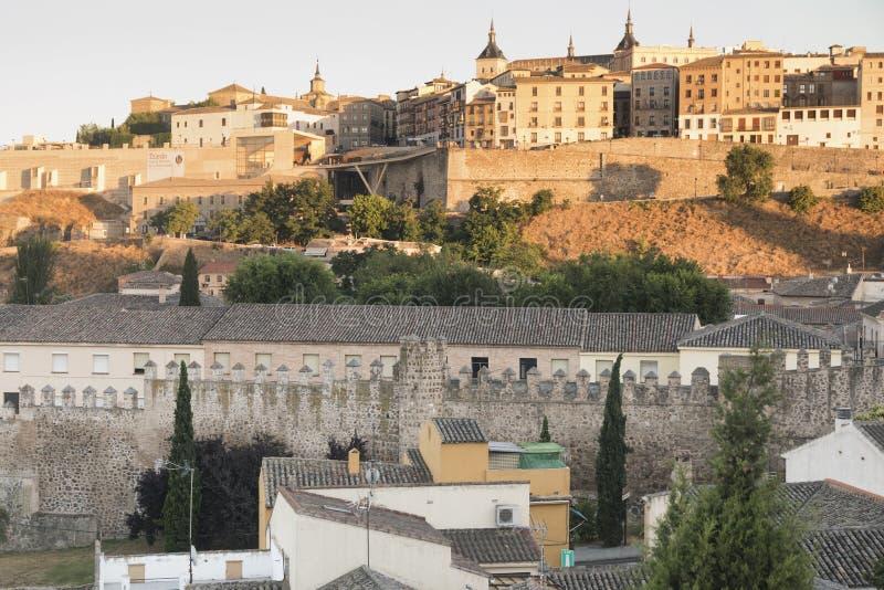 Τολέδο & x28 Spain& x29: εικονική παράσταση πόλης στοκ εικόνες