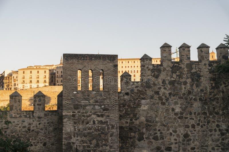Τολέδο & x28 Spain& x29: τοίχοι στοκ εικόνα