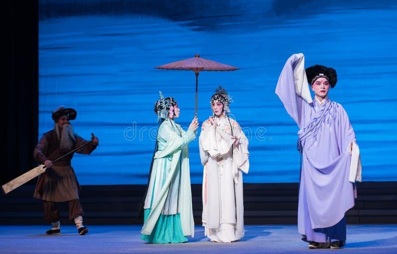 """Το ίδιο βάρκα-Kunqu Opera""""Madame άσπρο Snake† στοκ εικόνα"""