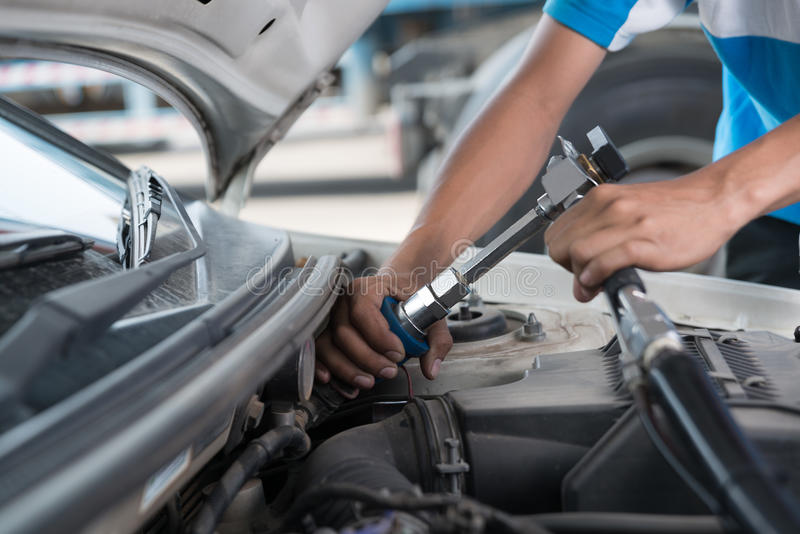 Το αέριο λαβών ngv, LPG, cng διανομέας για ανεφοδιάζει σε καύσιμα το όχημα που τροφοδοτεί με καύσιμα το faci στοκ εικόνα