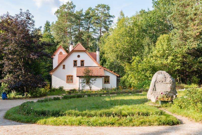 Το αβαείο στο μουσείο Polenovo, Ρωσία, Polenovo στοκ εικόνες
